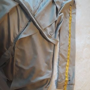 Event Jackets & Coats - Tan Trench Coat, Large